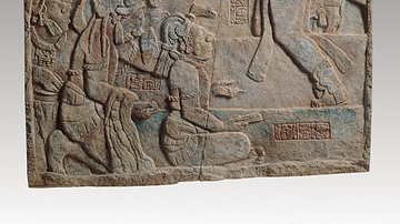 Presentation of Captives to a Maya Ruler