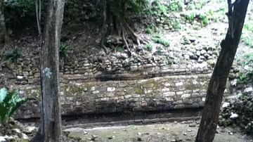 Ruins of Market Place, Great Plaza of Chacchoben